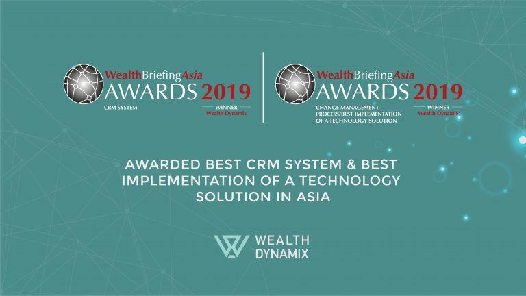 Winner 2019 WealthBriefingAsia Awards 2019 Wealth Dynamix logo