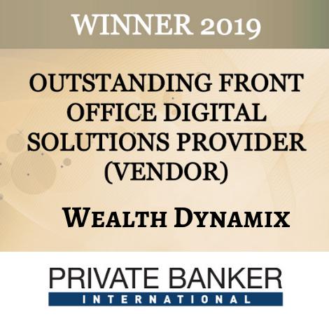 Winner 2019 Private Banker International Wealth Dynamix logo