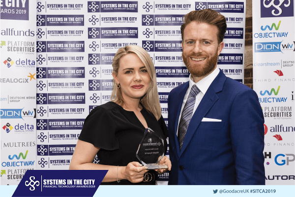 Wealth Dynamix wins Systems In The City Awards