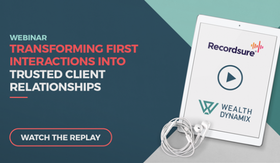 Webinar: Transforming first interactions into trusted client relationships