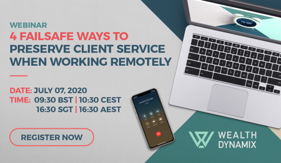 Webinar: 4 Failsafe Ways To Preserve Client Service When Remote Working