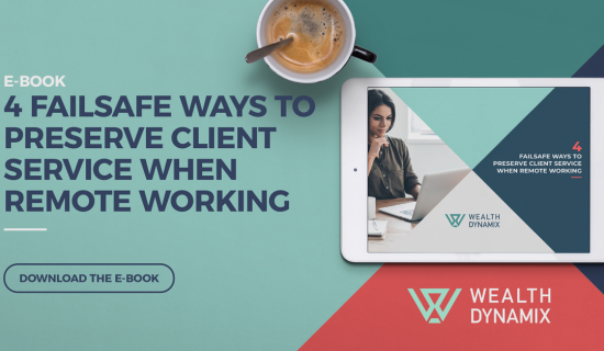 E-book: 4 Failsafe Ways To Preserve Client Service When Remote Working